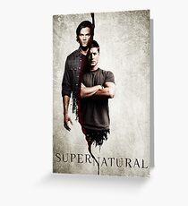 Supernatural 1 Greeting Card