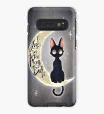 I love you to the moon & back Case/Skin for Samsung Galaxy