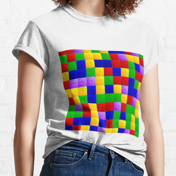 Colored squares Classic T-Shirt