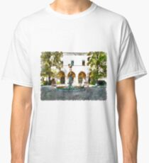 Teramo: garden with fountain Classic T-Shirt
