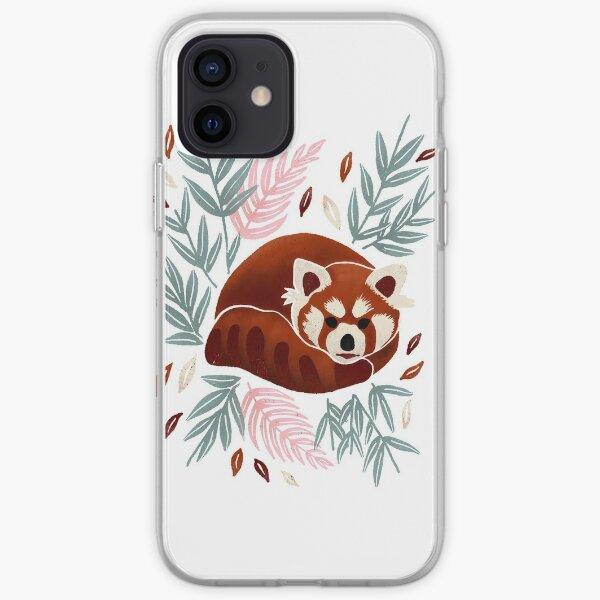 Red Panda - Retro Drama iPhone Soft Case