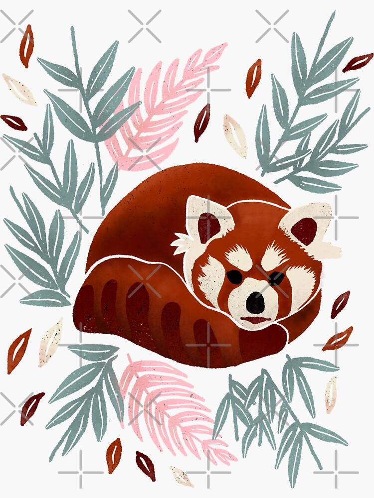 Red Panda - Retro Drama by emeraldlane