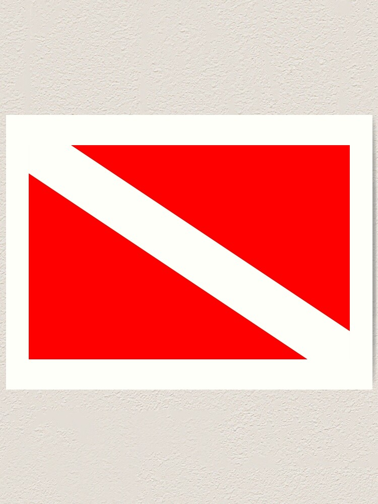 White Graphics /& More Diver Flag-Keep Calm and Scuba Dive