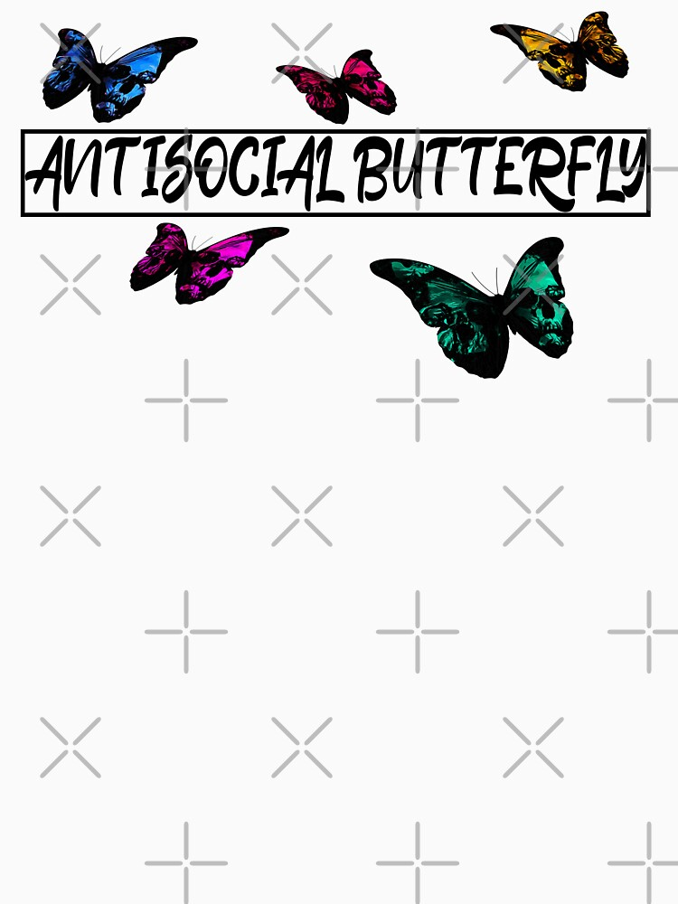 Antisocial Butterfly - Skull butterflies by RabbitLair