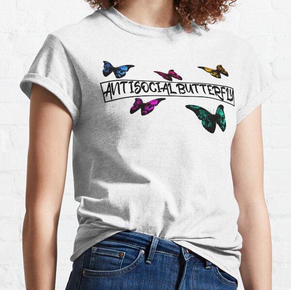 Antisocial Butterfly - Skull butterflies Classic T-Shirt