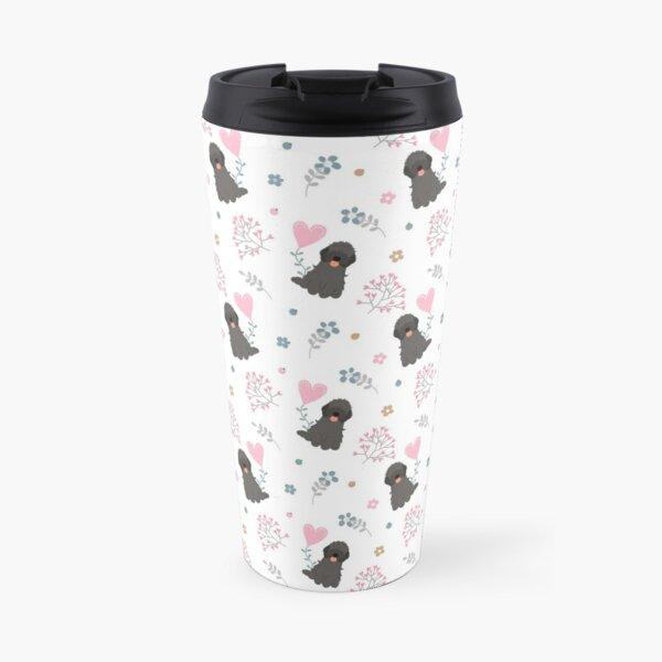 Love Black Cockapoo Cavapoo Cavoodle Travel Mug