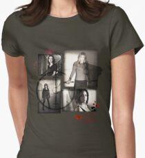 Women of SHIELD - Femme Fatale Womens Fitted T-Shirt