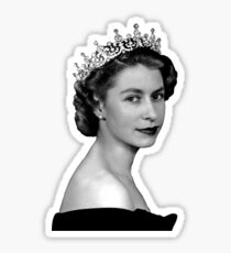 Elizabeth II Sticker