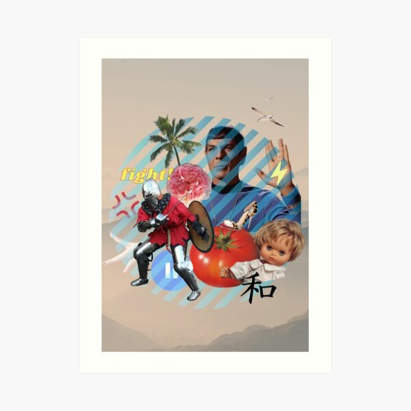 Popart online  Art Print