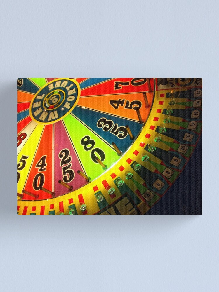 Alternate view of Wheel of Fortune Canvas Print