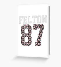 Team Felton 87 Greeting Card