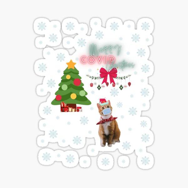 Frohe Covid Weihnachten Sticker
