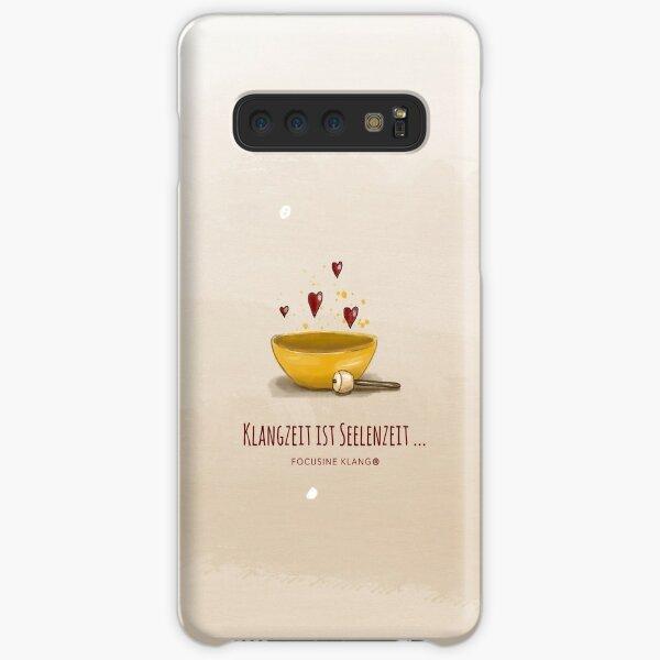 Klangzeit ist Seelenzeit - Klangschale Samsung Galaxy Leichte Hülle