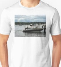 Stormy Day At The Harbor Essex CT T-Shirt