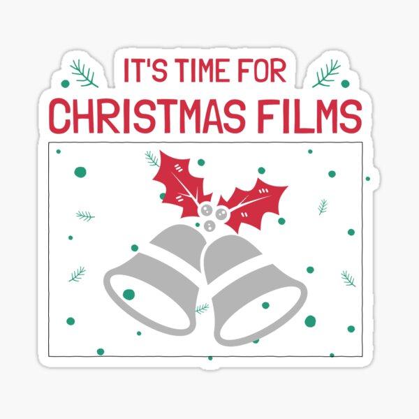 Christmas Films - Bells Sticker