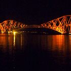 Forth Bridge Illuminated by ©The Creative  Minds