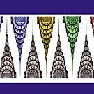 Chrysler Building Mug - Opposing Elements by steeber
