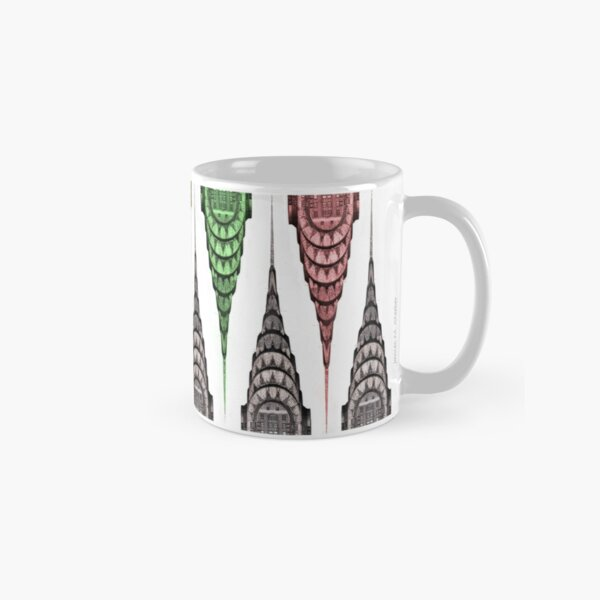 Chrysler Building Mug - Opposing Elements Classic Mug