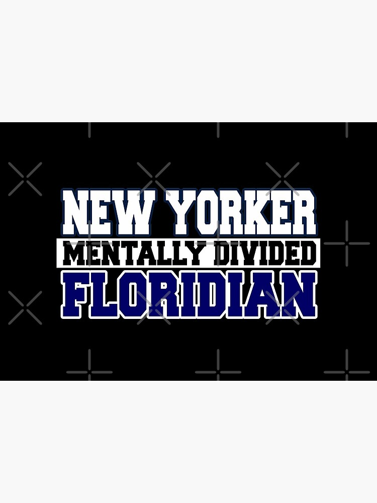 New Yorker Mentally Divided Floridian by Mbranco