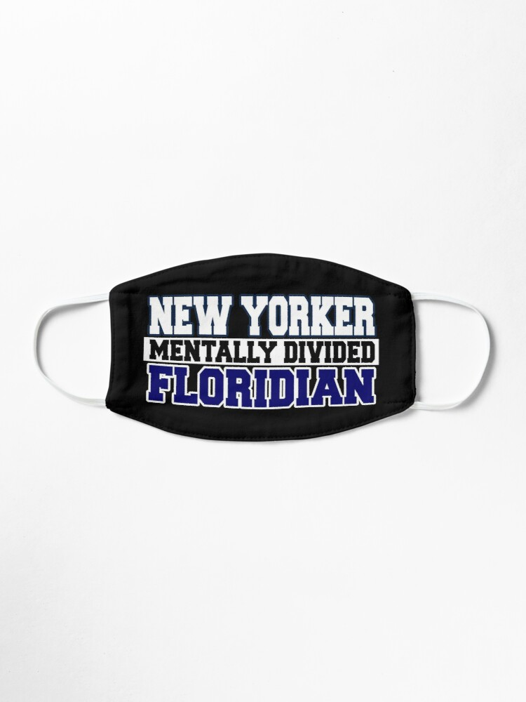 Alternate view of New Yorker Mentally Divided Floridian Mask