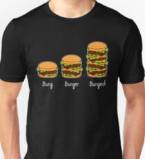 Burger explained 2: Burg. Burger. Burgest T-Shirt