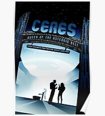 Visions of the future- Ceres Poster