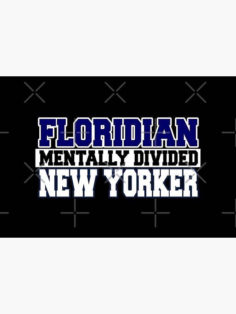 Floridian Mentally Divided New Yorker by Mbranco