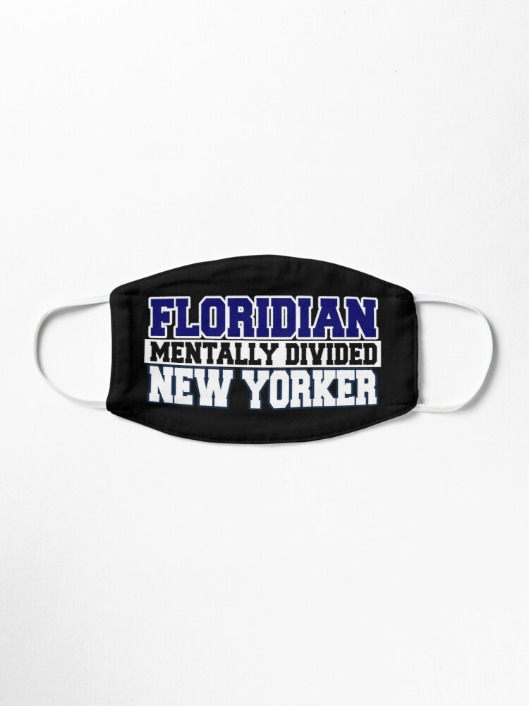 Alternate view of Floridian Mentally Divided New Yorker Mask