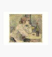 Henri de Toulouse-Lautrec  - The Hangover (Suzanne Valadon) (1887 - 1889)Woman Portrait Art Print