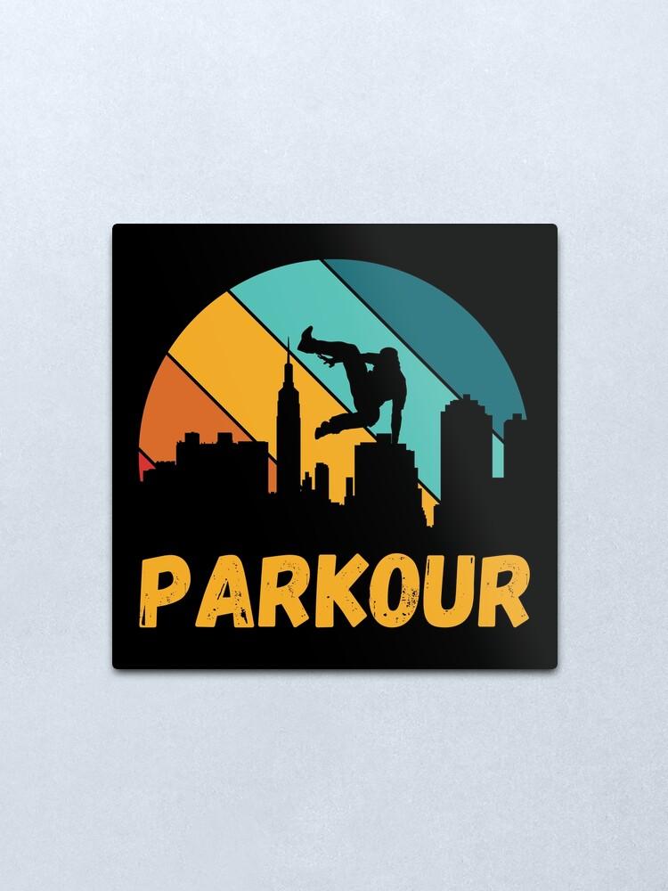 Alternate view of Parkour, best of parkour freerunning Metal Print