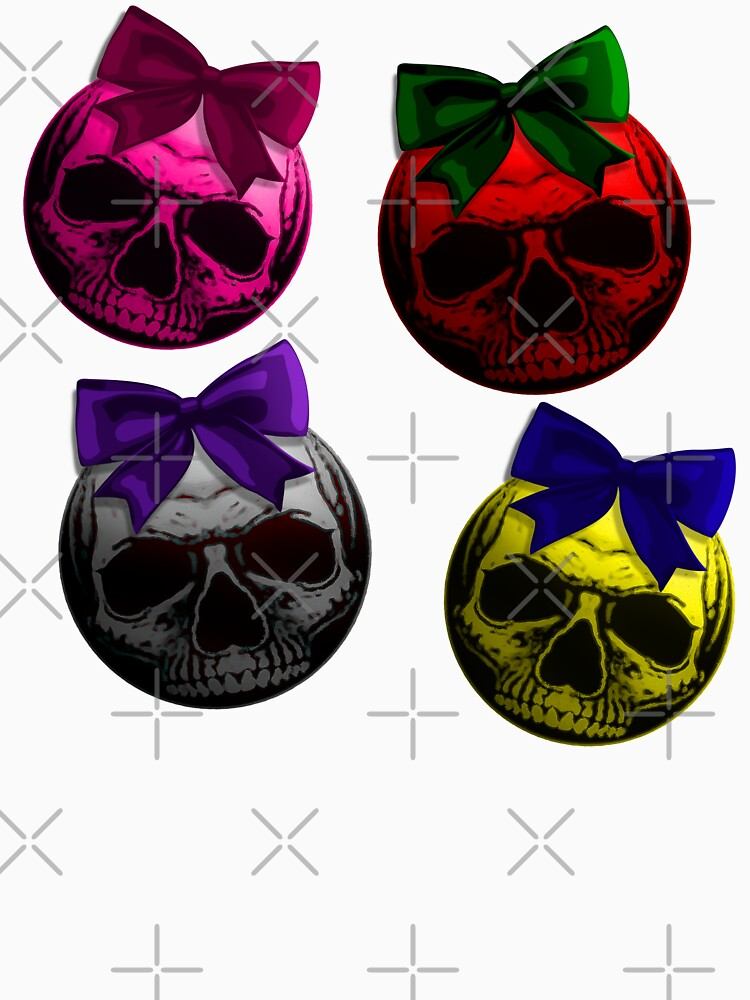 Skull Bauble - Christmas Ornament Pattern by RabbitLair
