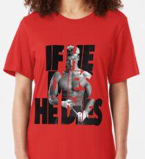 Ivan Drago T-Shirt (If he dies, he dies) Slim Fit T-Shirt