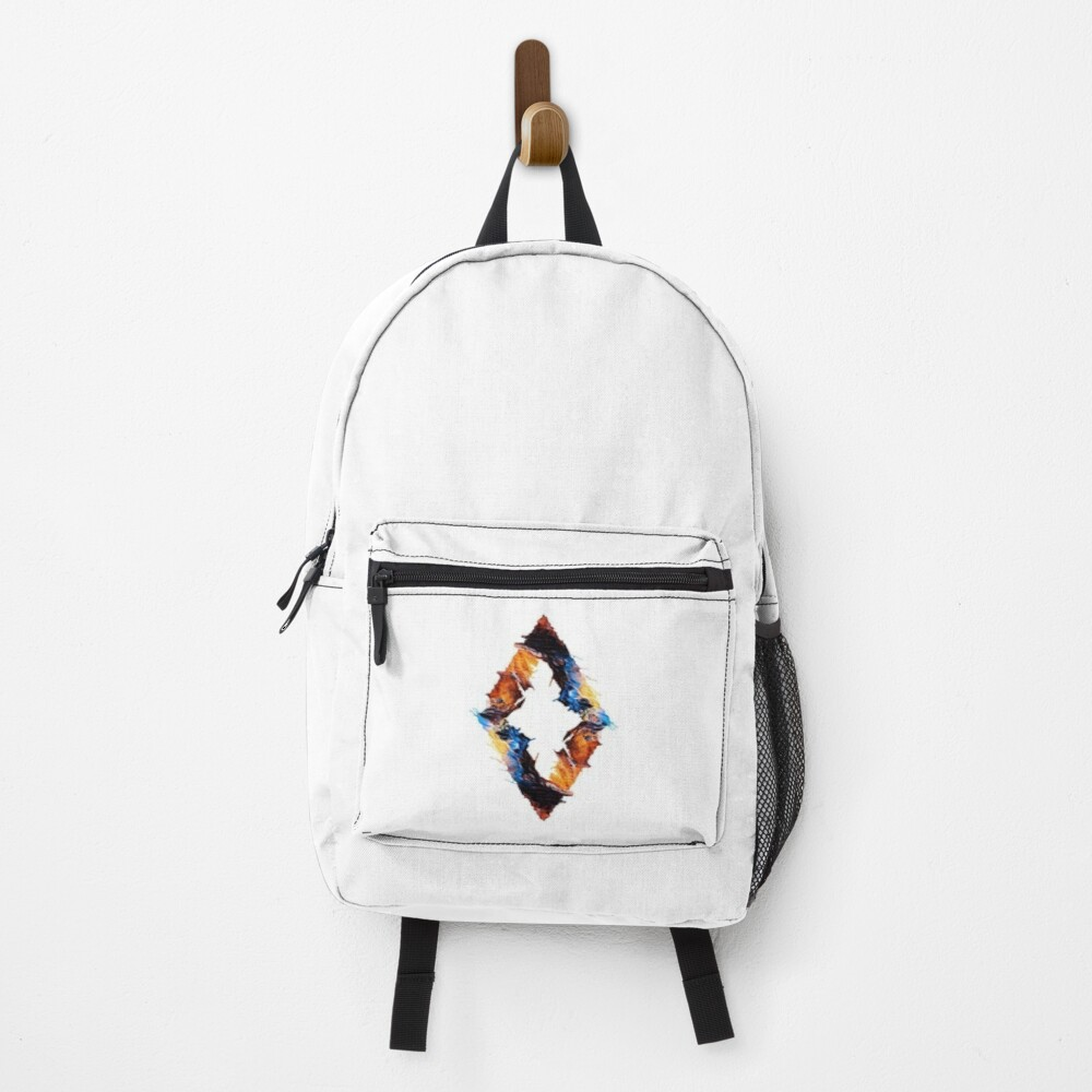 Abstract diamond Backpack