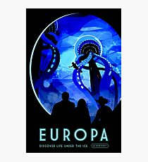 Visions of the future- Europa Photographic Print