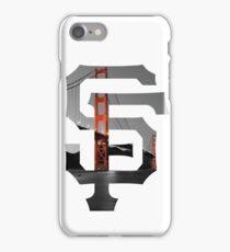 SF Giants White iPhone Case/Skin