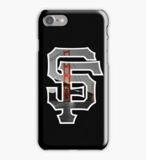 SF Giants Black iPhone Case/Skin