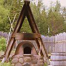 Old Stone Oven by Elizabeth  Lilja