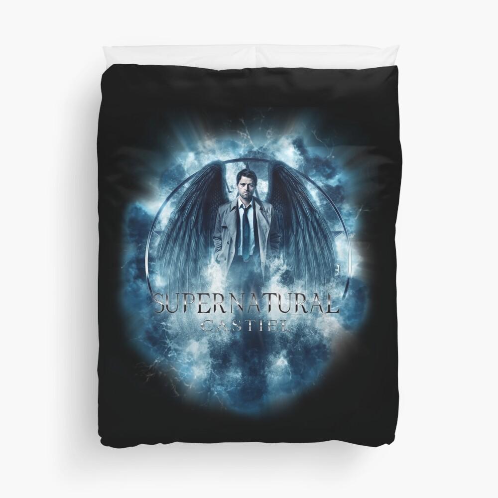 Supernatural Castiel Storm Duvet Cover