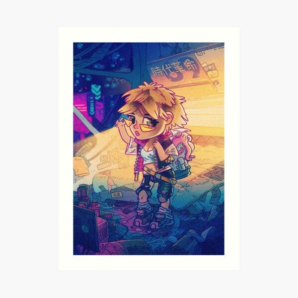 Cyberann Art Print