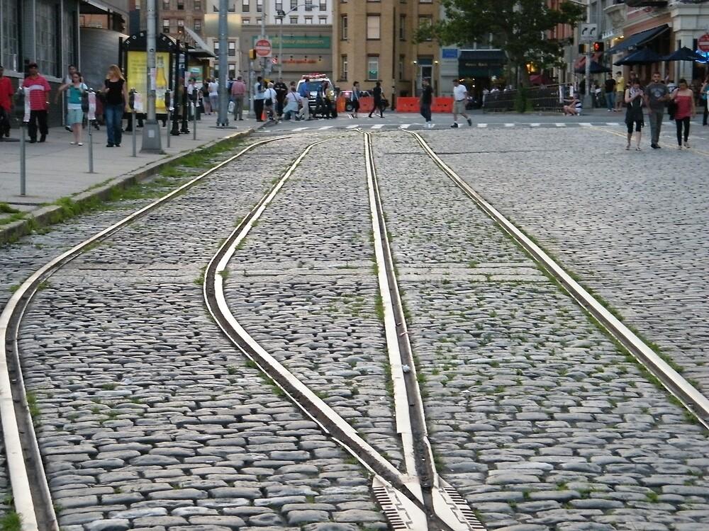 Quot Abandoned Trolley Tracks Cobblestone Streets Hoboken