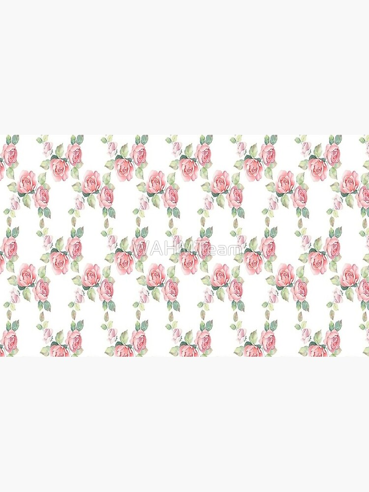 Rose Floral, Shabby Chic, Pink Roses, Pink Flowers by WAHMTeam