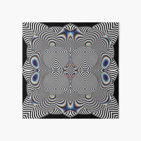 Trippy Pattern Art Board Print