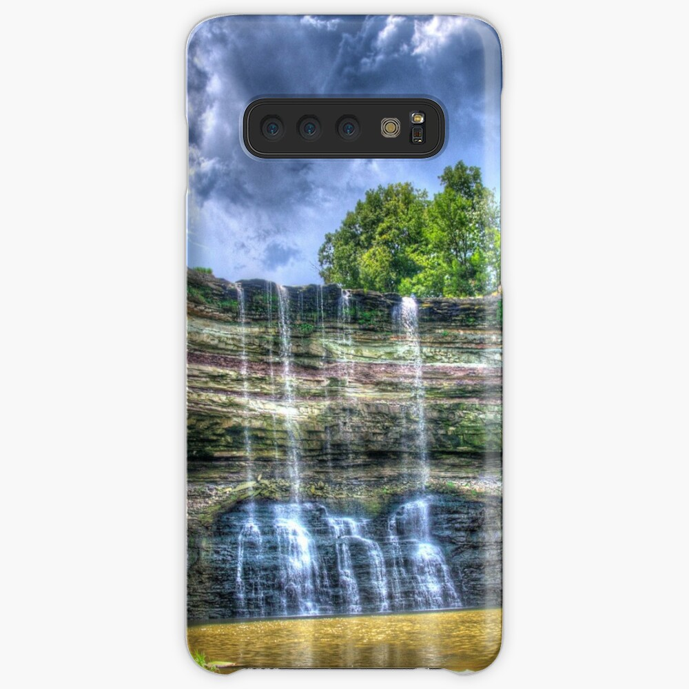 Vibrant waterfall Case & Skin for Samsung Galaxy