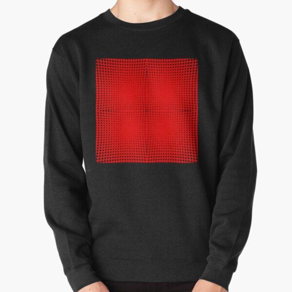Trippy Pattern Pullover Sweatshirt