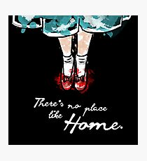 There's no place like home watercolour Photographic Print