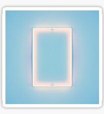 The 1975 - Blue Rectangle Sticker
