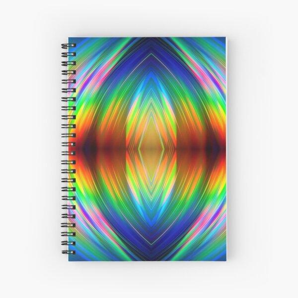 Trippy Pattern Spiral Notebook