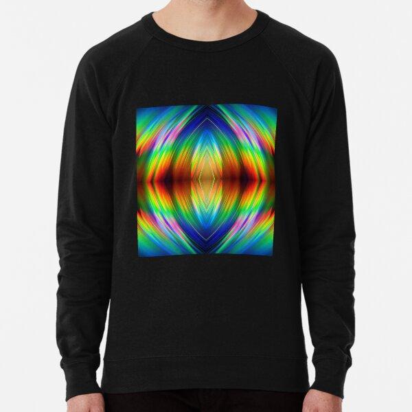 Trippy Pattern Lightweight Sweatshirt