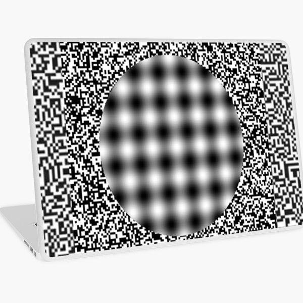 optical illusion Laptop Skin