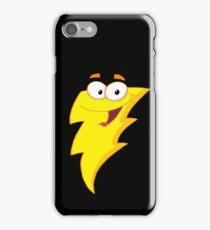 Silly Cute Cartoon Lightning Bolt Character iPhone Case/Skin